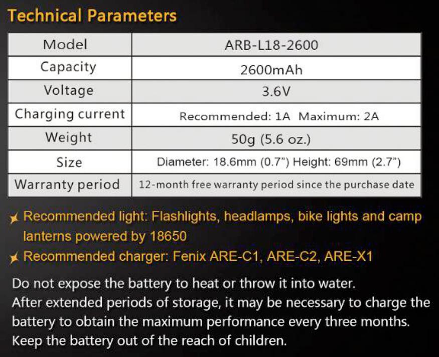 Fenix ARB-L18-2600 battery.png